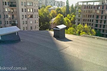 Полимерное покрытие для гидроизоляции крыши